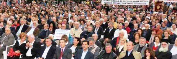 Η Εκδήλωση Μνήμης της Παμποντιακής Ομοσπονδίας για τη Γενοκτονία των Ελλήνων του Πόντου, 19 Μαΐου 2011, Πλατεία Αγ. Σοφίας, Θεσσαλονίκη